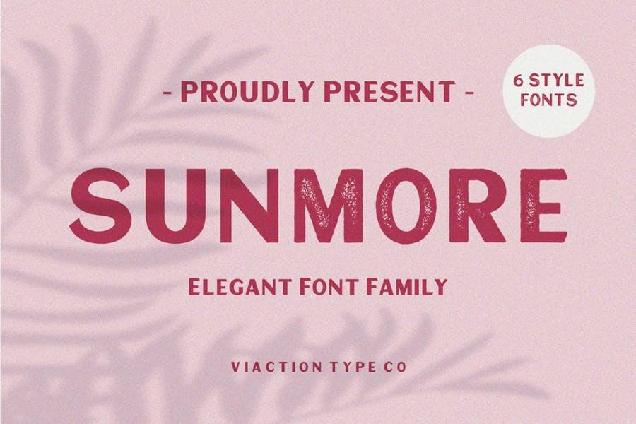 Elegant San Serif Fonts
