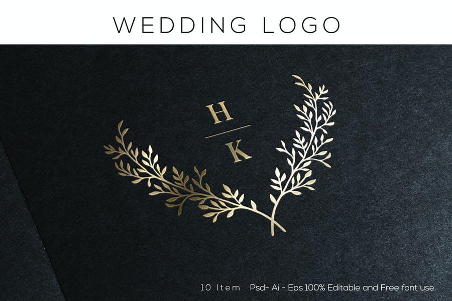 Elegant Wedding Logotype