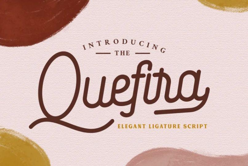 Elegant and Stylish Aesthetic Typeface