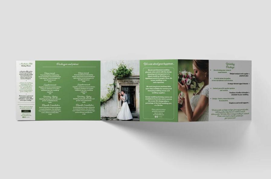 Event Planner Brochure Template