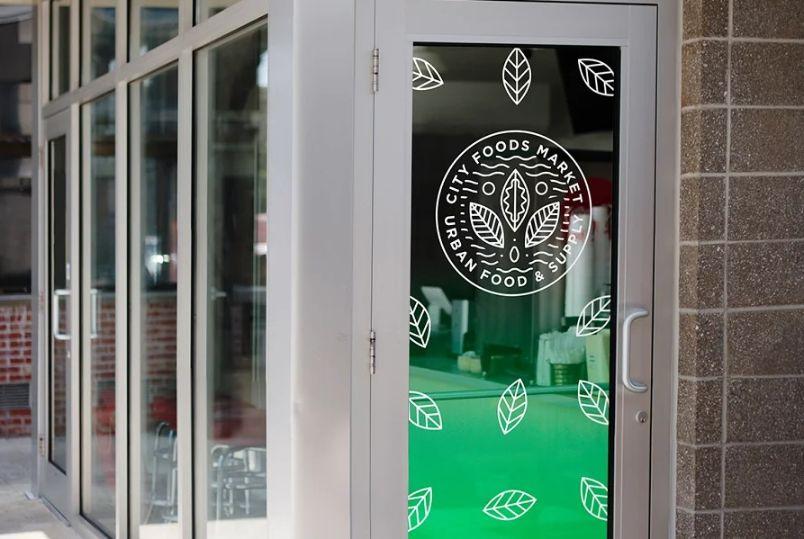 Exterior Store Branding Mockups