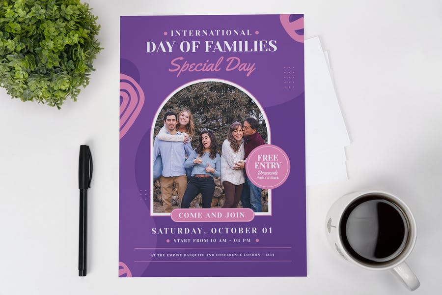 Family Special Day Flyer