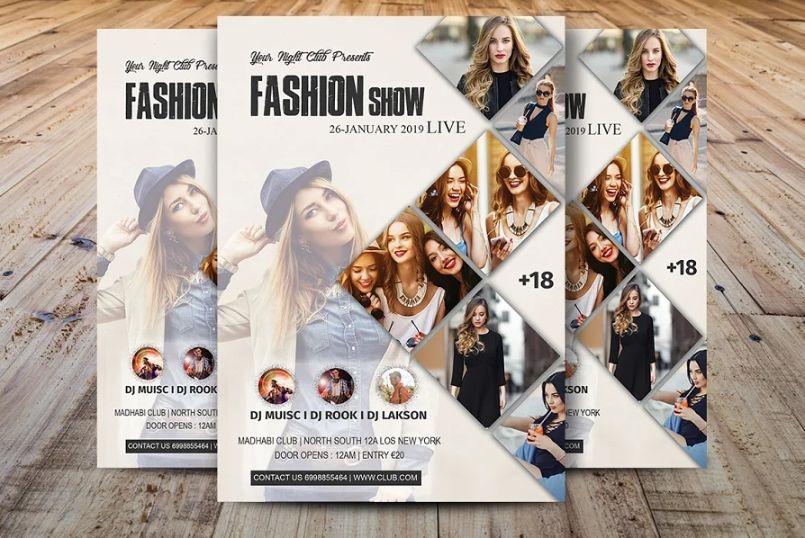 Fashion Advertising Flyers