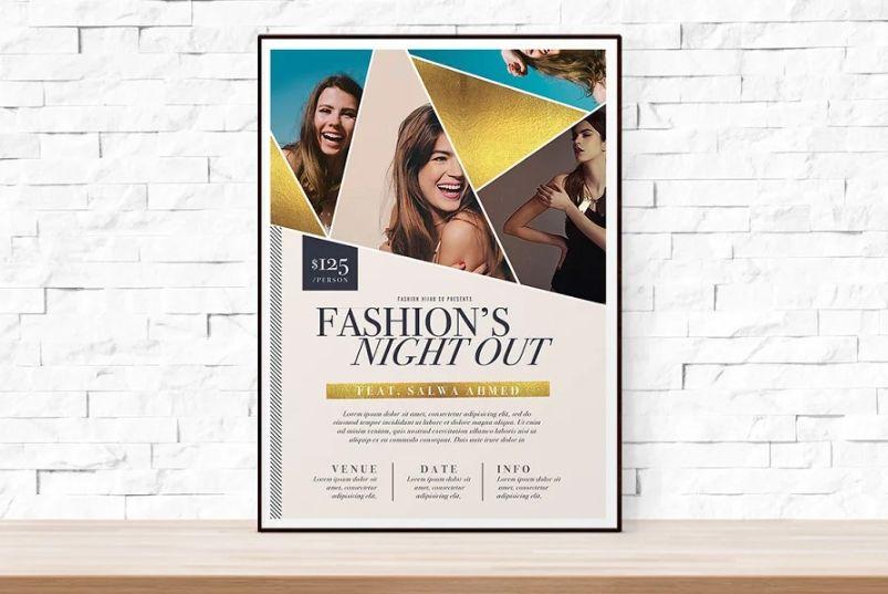 Fashion Event Week Flyer