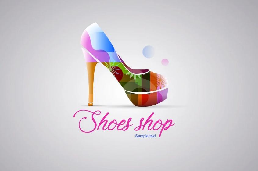 Fashion Shoe Logo Template