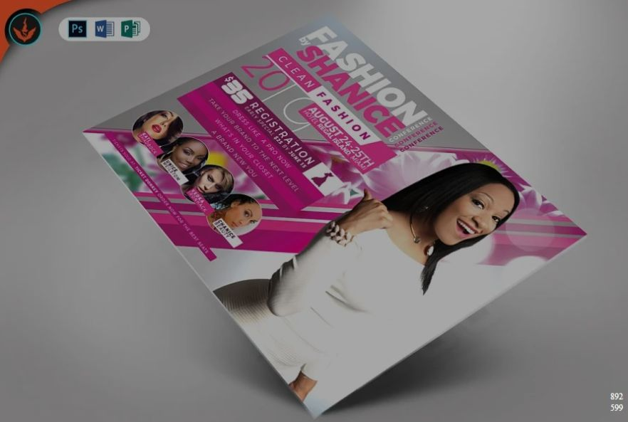 Fashion Conference Flyer Designs