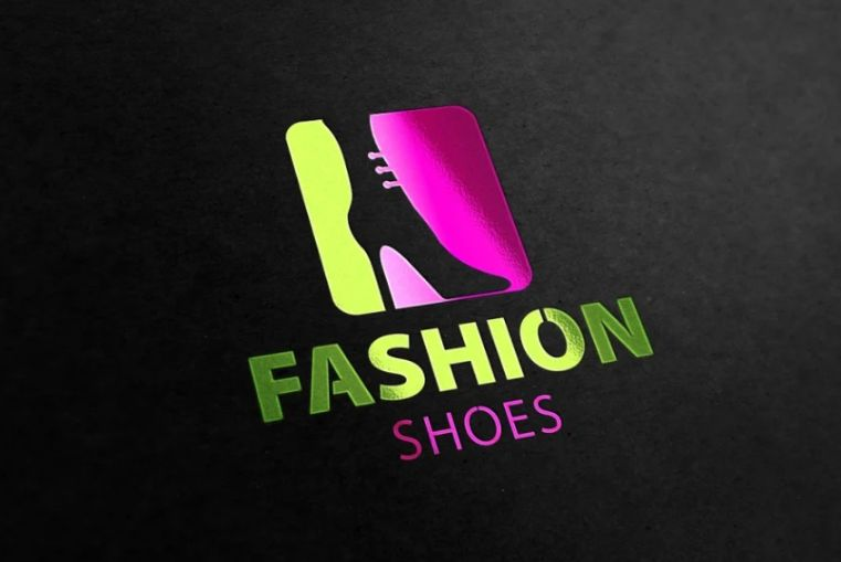 Female Footwear Logo Design