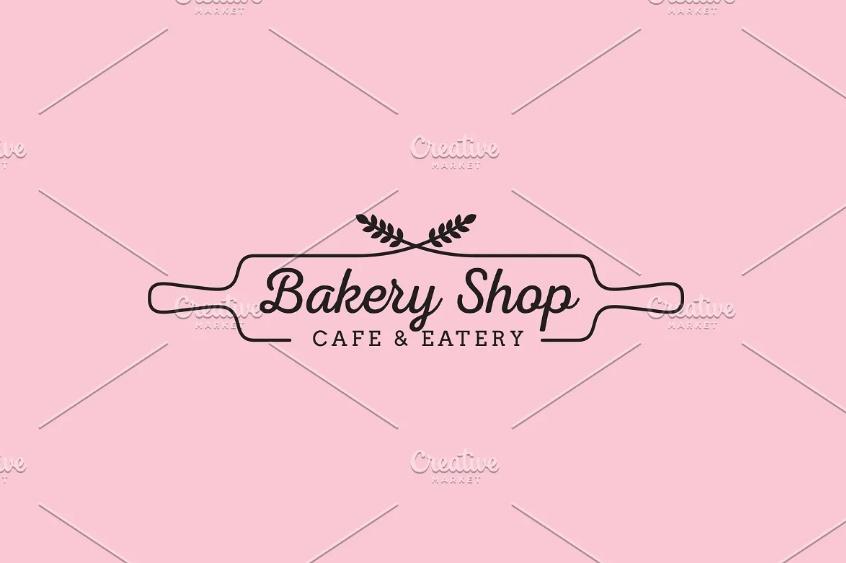 Feminine Bakery Logo Template