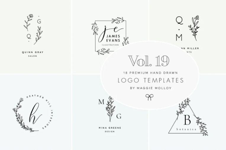 Feminine Premade Logo Design