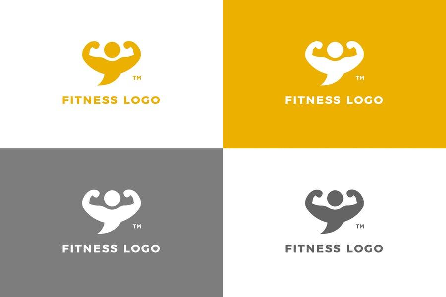 Fitness Center Logo Design