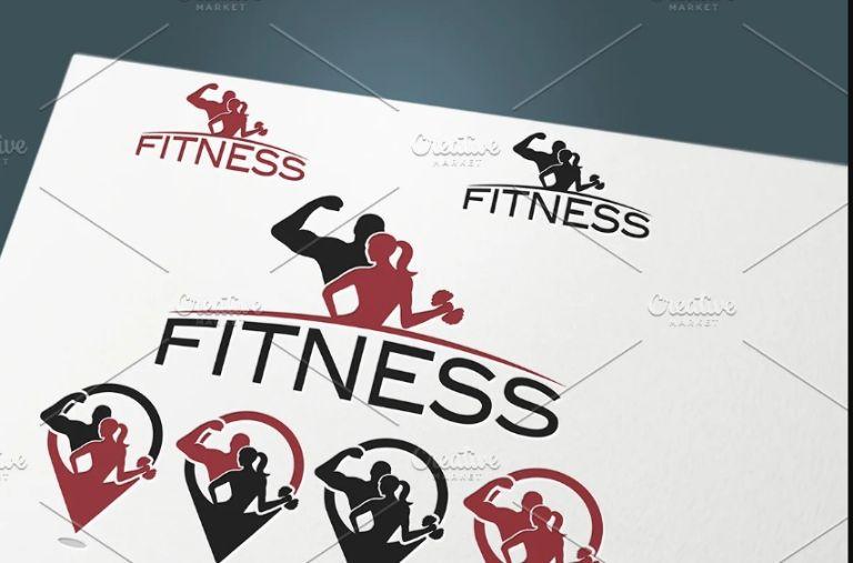 Fitness Location Logo Idea