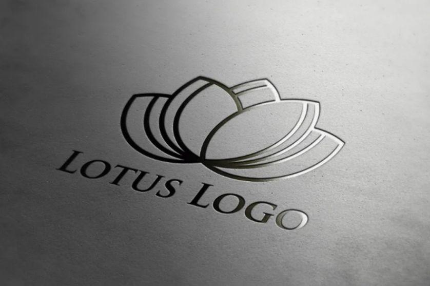 Floral Resort Logo Template
