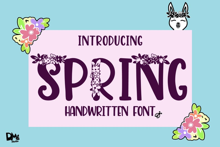 Floral Style Handwritten Fonts