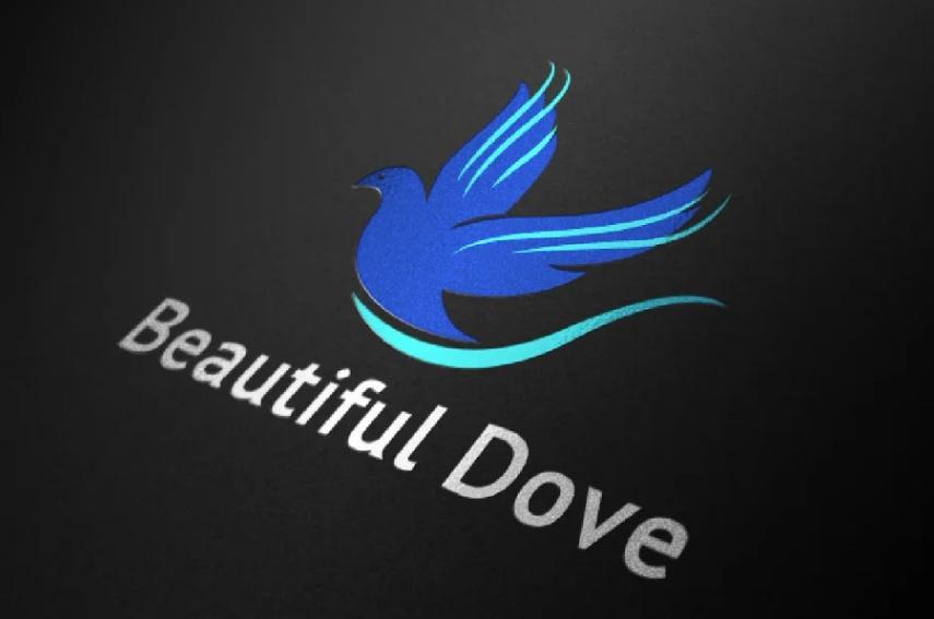 Flying Dove Logo Templates