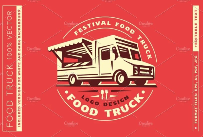 Food Truck Logo Ideas