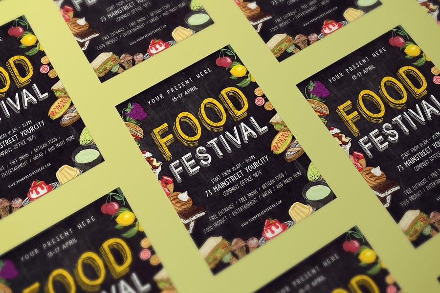 Foof Festival Flyer Templates