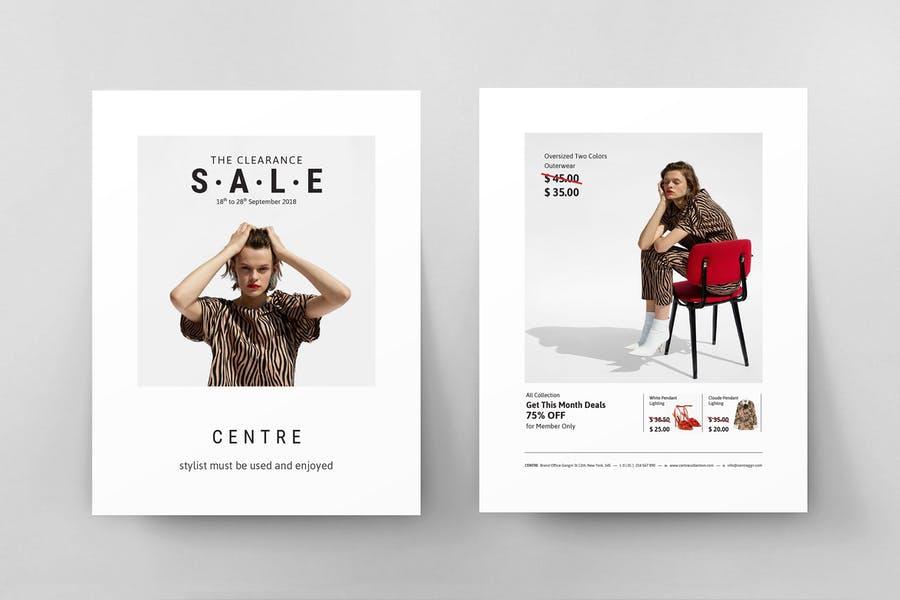 Fresh Fashion Poster Template