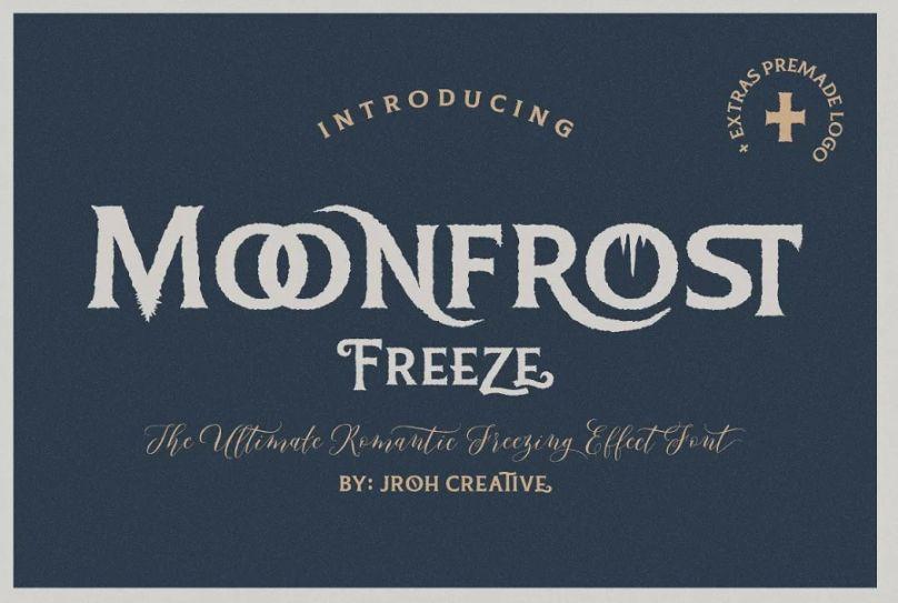 Frozen Headline Fonts
