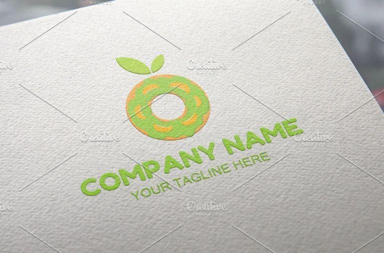 Fruits Donut Branding Identity