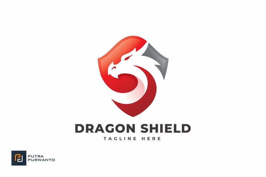 Fully Customizable Shield Logo