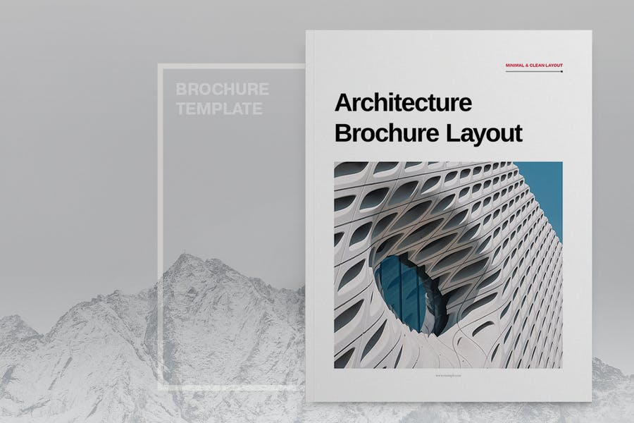 Fully Editable Architecture Brochure