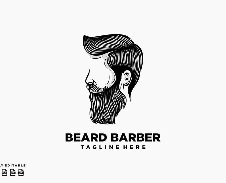 21+ Best Barber Logo Design Templates Download