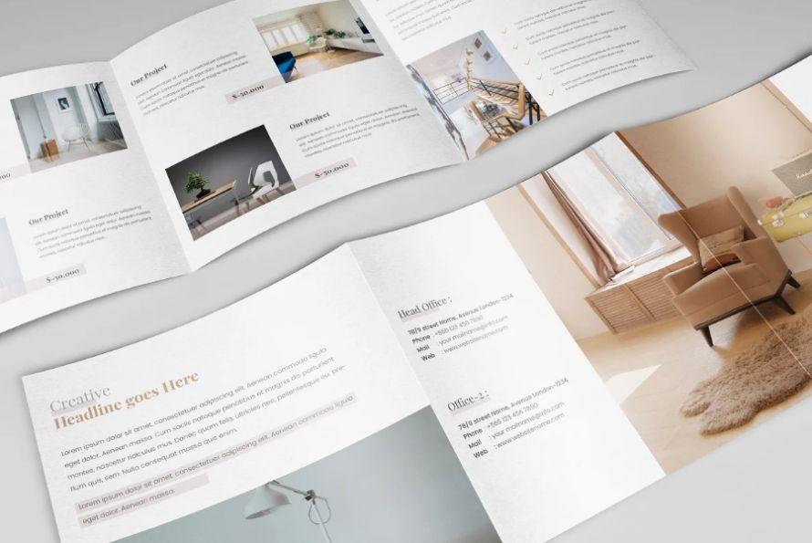 Fully Editable Brochure Templates