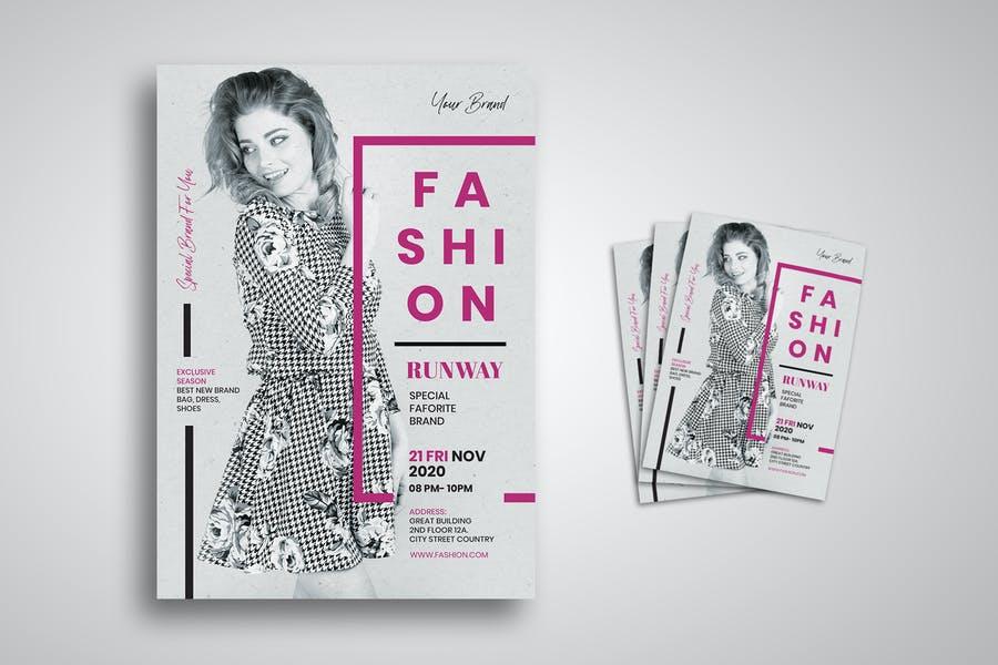 Fully Editable Fashion Flyer Templates