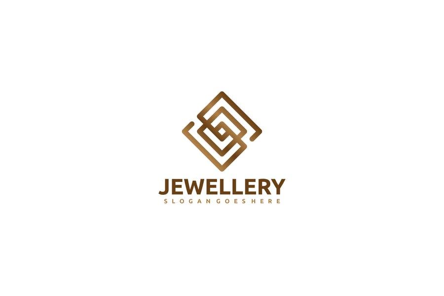 Fully Editable Jewelry Logo Design