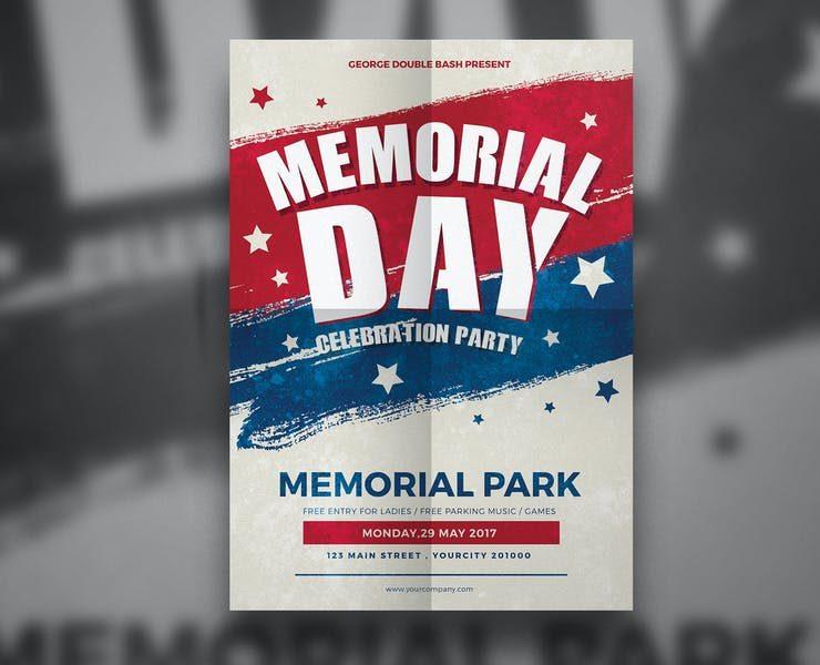 21+ Best Memorial Day Flyer Template Download