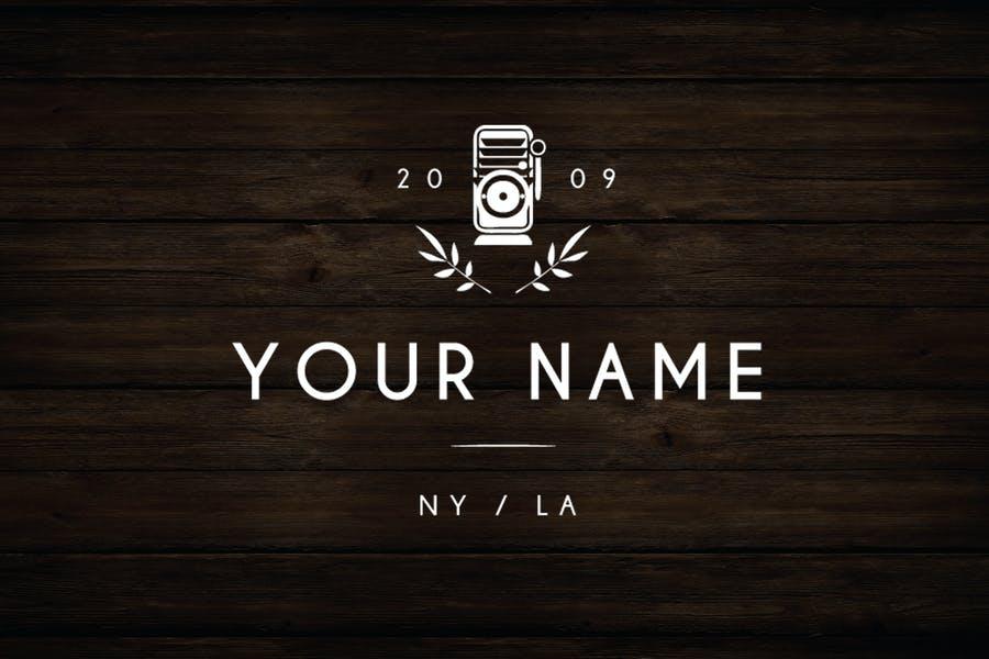 Fully Editable Photography Logo Idea