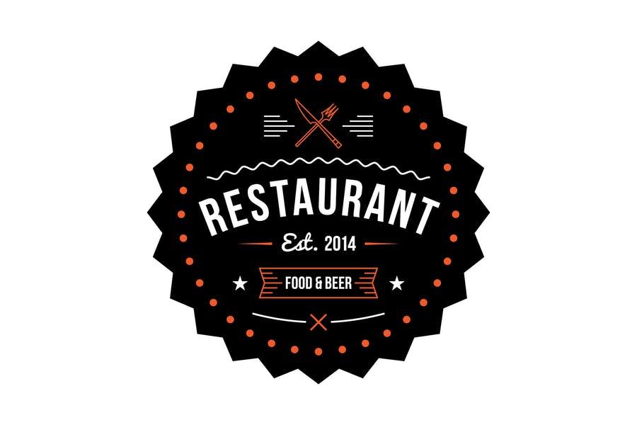 Fully Editable Restaurant Logo