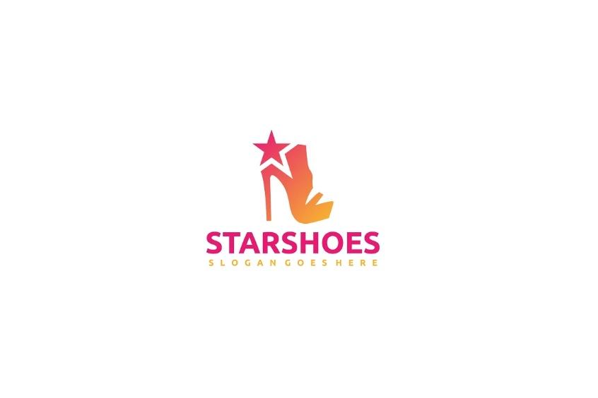 Fully Editable Shoe Logo