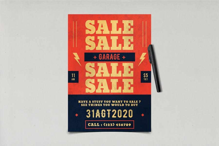 Fully Editable Yard Sale