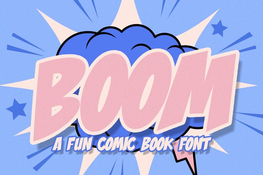 Fun Comic Book Fonts