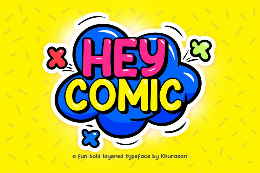 Fun Layered Bold Fonts
