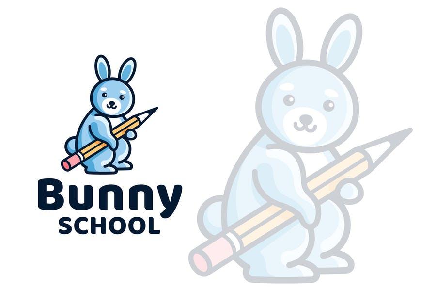 Funny School Logo Template