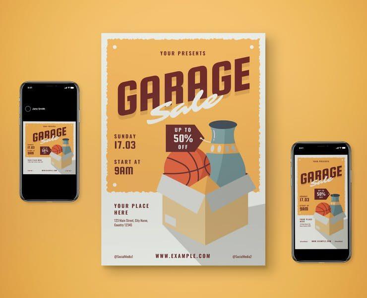 15+ Best Garage Sale Flyer Templates Download