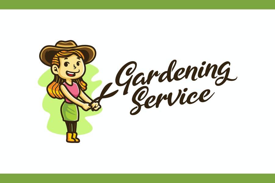 Gardening Service Logo Design