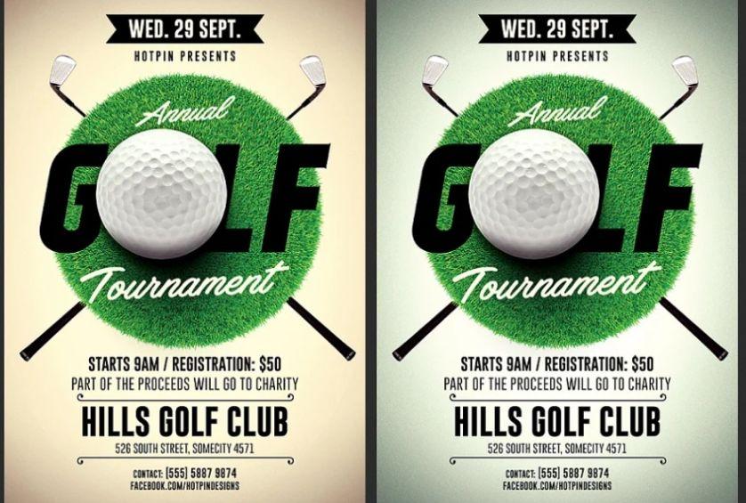 Golf Course Advertising Templates