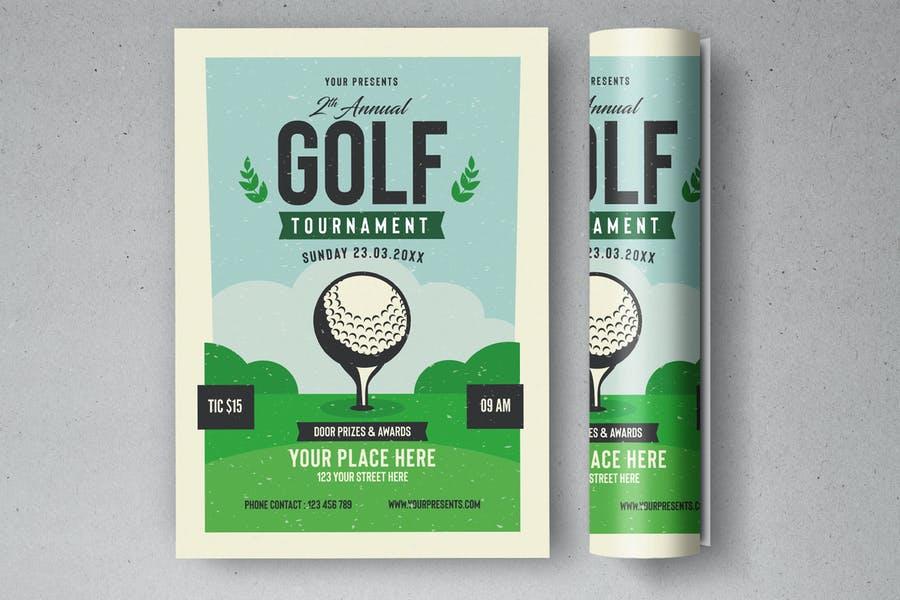 Golf Event Design Templates