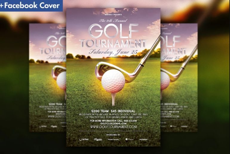 21+ Best Golf Flyer Templates Ai and PSD Download