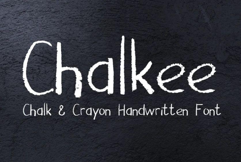 Grungy Hand Written Fonts