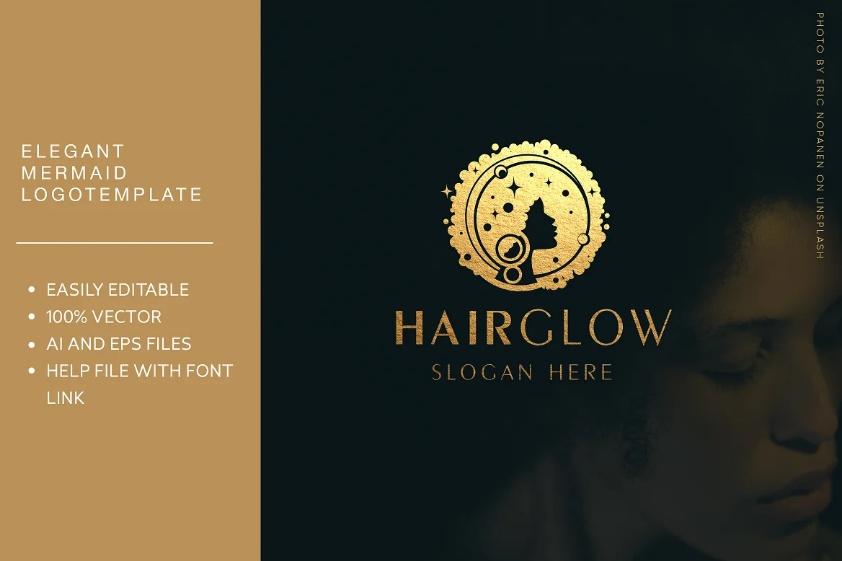 Hairglow Moon Idea Template