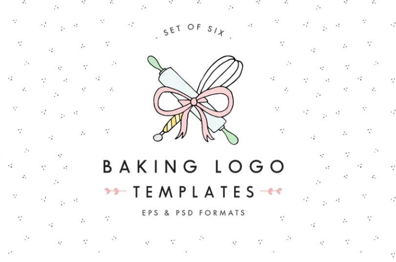 Hand Drawn Bakery Logos