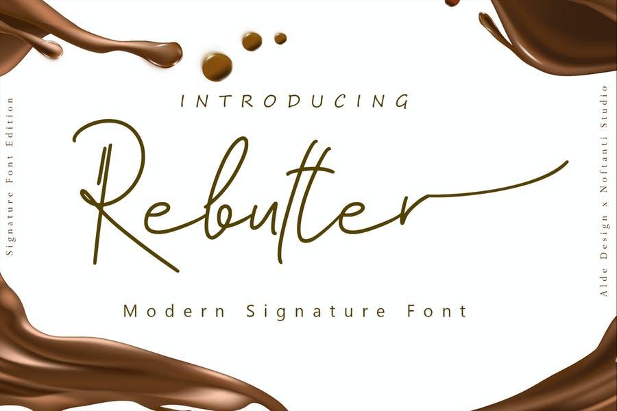 Hand Drawn Modern Signature fonts