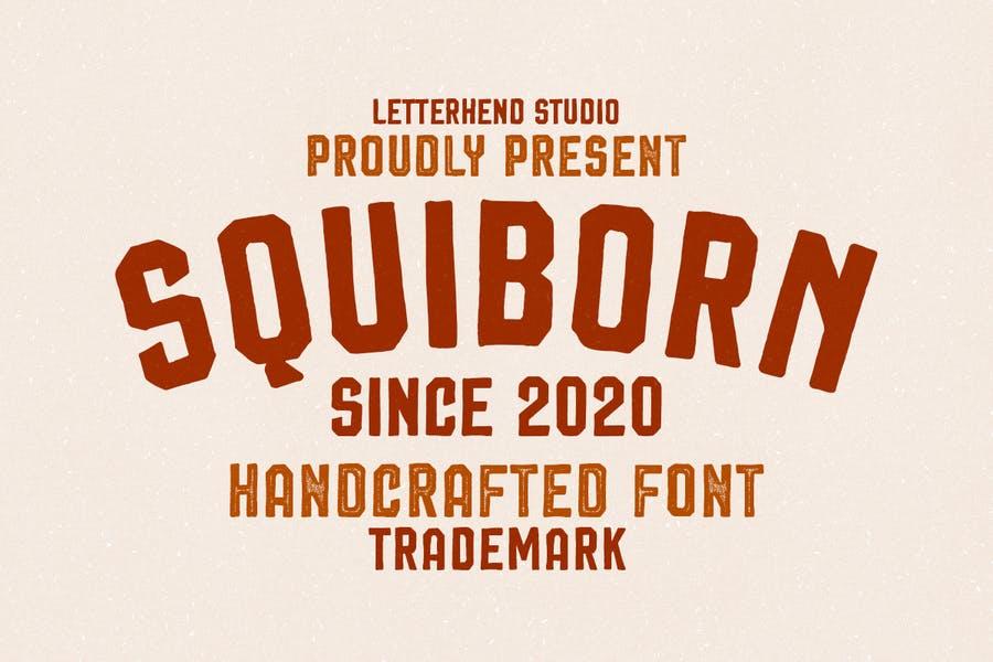 Hand Drawn Vintage Logo Fonts