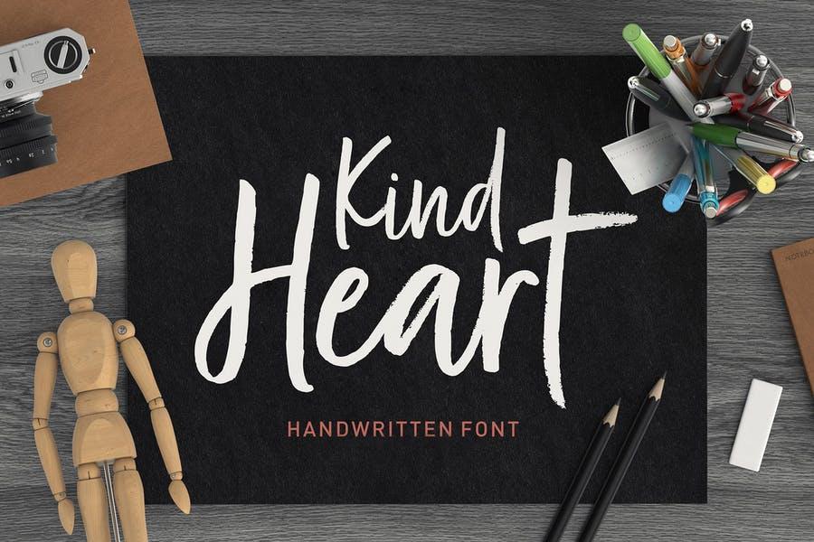 Hand Written Calligraphy Duo Font