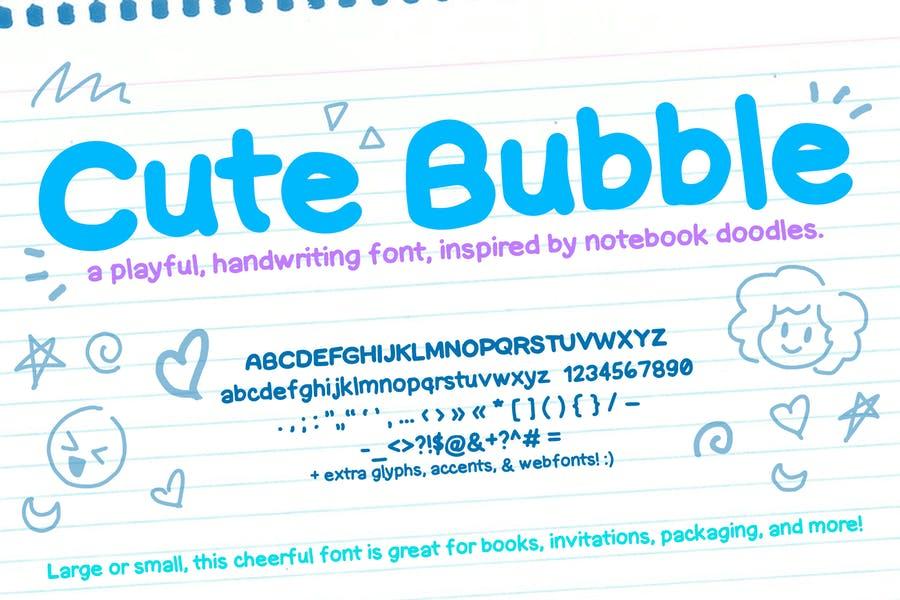 Hand Written Cute Font