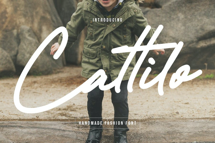 Handmade and Authentic Fashion Fonts